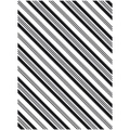 "Darice Embossing Folder - Stripe Background (4.25"" x 5.75"")"