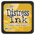 Tim Holtz Mini Distress Dye Ink Pad - Fossilized Amber