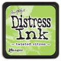 Tim Holtz Mini Distress Dye Ink Pad - Twisted Citron