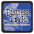 Tim Holtz Mini Distress Dye Ink Pad - Blueprint Sketch