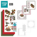 Stitch and Do 39 - Card Embroidery Kit - Christmas Greetings