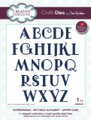 Sue Wilson - Expressions Collection Art Deco Alphabet Upper Case Die CED5423 - Pre-Order 15% Off