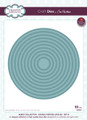 Sue Wilson - Noble Collection - Double Pierced Circles:Set B Die CED5517 -  Pre-Order 25% Off