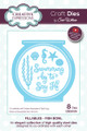 Sue Wilson Fillables Collection Dies -  Fish Bowl CED21001 - Pre-Order 15% Off
