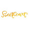 Ultimate Crafts Sweet Sentiments Hotfoil Stamp - Sweetheart ULT158097