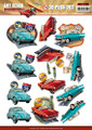3D Die-Cut Sheet  Amy Design  Vintage Vehicles  SB10151