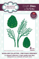 Sue Wilson Woodlands Collection - Pine Cone & Greenery CED3103