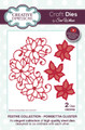 Sue Wilson Festive Collection - Poinsettia Cluster CED3105