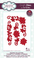 Sue Wilson Festive Collection - Poinsettia Flourish & Corner CED3109