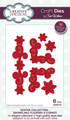 Sue Wilson Festive Collection - Snowflake Flourish & Corner CED3110