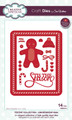 Sue Wilson Festive Collection - Gingerbread Man CED3114