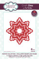 Sue Wilson Festive Collection - Scalloped Snowflake Frame CED3120