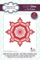 Sue Wilson Festive Collection - Art Deco Snowflake CED3124