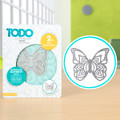 TODO Dies - Henna Butterfly Small  CNCP0478V2