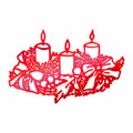Couture Creations/Anna Griffin Hot Foil Stamp - Wreathed Candles CO725525