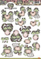 3D Sheet Yvonne Creations - Frogs Wedding CD10227