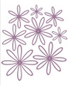 Sue Wilson - The Finishing Touches Collection - Open Petal Dies CED1416 - Pre-Order 15% Off