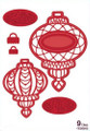 Sue Wilson - The Festive Collection - Sentimental Bauble Dies CED3012 - Pre-Order 15% Off