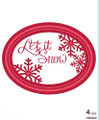 Sue Wilson - The Festive Collection - Peeking Snowflake Dies CED3022 - Pre-Order 15% Off