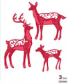 Sue Wilson - The Festive Collection - Deer Family Dies CED3042 - Pre-Order 15% Off