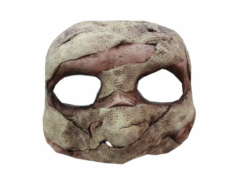 This mummy is perfect if you need a half mask mummy motif look.