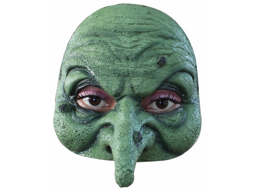 Latex half mask, easy to wear and remove, individually hand painted for the most realistic look possible.