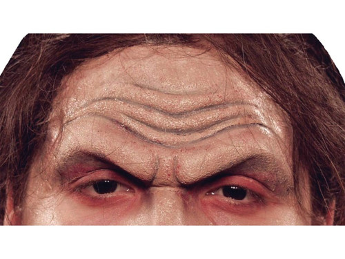 The Demon Forehead Piece.  Soft, unpainted form prosthetic accessory that you simply glue into place to instantly change your character look.  Requires spirit gum or latex and makeup, sold separately.
