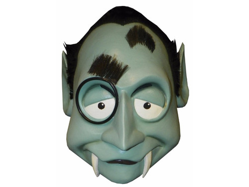 Mad Monster Party Count. From the creators of TV specials Frosty the Snowman and Rudolph the Red Nosed Reindeer came the wonderful cult TV classic Mad Monster Party. This full over-the-head latex mask depicts the character Count and is one size fits most adults.  (c) 2012 StudioCanal S.A. All Rights Reserved.
