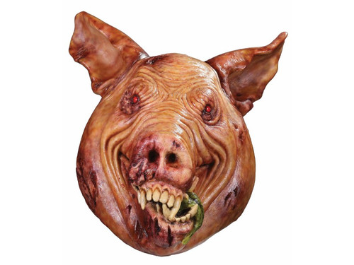 From the cult movie classic Amityville The Awakening comes a fantastically scary mask based on the Jody the pig character from the movie. Full, over-the-head latex mask. One size fits most adults.