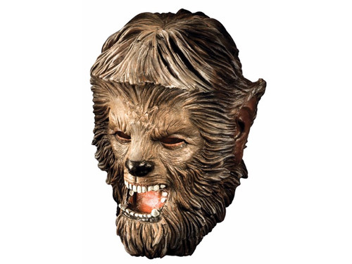 The classic werewolf mask! Full over the head. Hand sculpted hair and facial features to look like the movie character.  Latex.