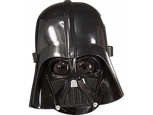 A necessity for your child's Darth Vader costume. Plastic mask covers front face only. One size fits most children.  (c) Lucasfilm Ltd. & TM. All Rights Reserved.