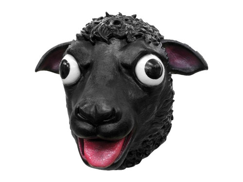 Black Sheep Latex Mask!  Full Over The Head.