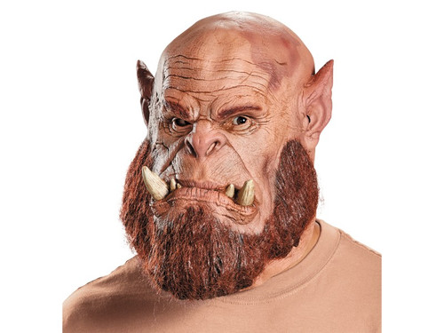 The perfect accessory for your costume based on the movie Warcraft, the Worlds of Warcraft movie. Full over-the-head latex mask of one of the most popular characters! One size fits most adults.