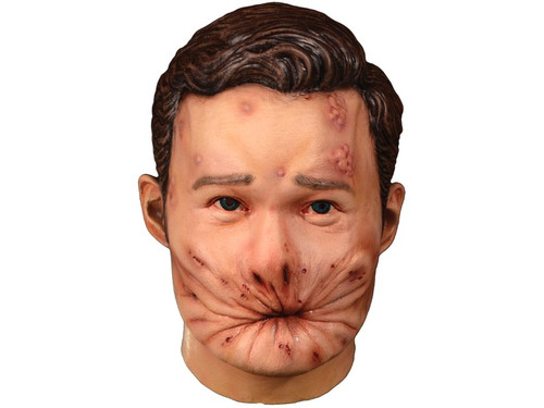 "Trick or Treat Studios and Sony Pictures Entertainment are proud to present the officially licensed Preacher - Arseface Mask. Based on the actual screen used appliances, this mask is an exact replica of Arseface. So get yourself a Preacher Arseface Mask and try not to ""go to hell!"""