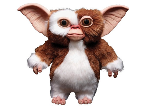 Gizmo Hand Puppet.  NEW 2017! From the classic movie Gremlins comes this excellently detailed hand puppet of the character Gizmo that your kids will love. An adorable fur-covered puppet has an opening in the back for hand access. Stands 10 inches tall.