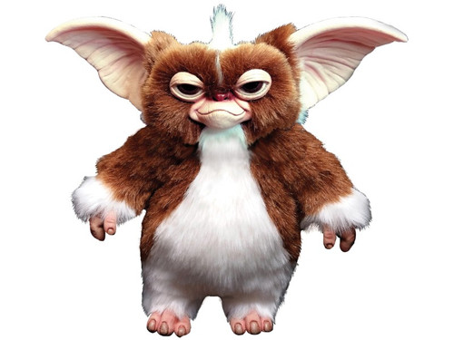 This amazing Gizmo Puppet was designed by Russ Lukich using who used an original Gizmo form as reference. Absolutely every detail of Gizmo is present in this incredible hand puppet. From his dimensions to his hair, this is as close as you'll ever come to having the actual Gizmo Prop in hand..