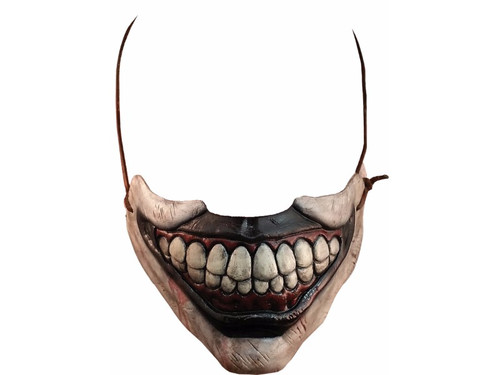 From the award-winning FX network television show American Horror Story comes this great Twisty Clown mouth accessory. Sure to creep out all of your friends and perfect for your Twisty costumes. One size fits most.
