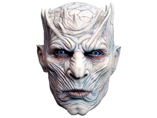 You can become one of the cool characters from the hugely popular show Game of Thrones with this cool mask. 100% latex, individually hand painted for the best look, full over-the-head mask. One size fits most adults.