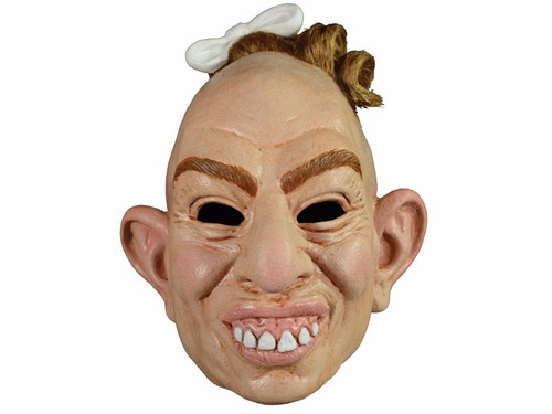A wonderfully frightful mask depicting the character from the award-winning TV show American Horror Story on the FX network. Full latex over-the-head mask. One size fits most adults.