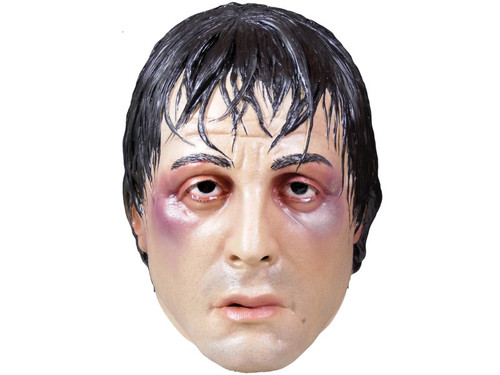Join the fight this season with the new Rocky Balboa Mask.  One size fits all adult. So celebrate the 40th Anniversary of Rocky this Halloween by becoming one of the greatest Heavy Weight Champions of all time, Rocky Balboa.  ROCKY TM & © 1976 – 2016 Metro-Goldwyn-Mayer Studios Inc. All Rights Reserved.
