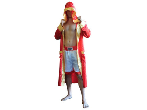 The Rocky Balboa Robe.  One Size Fits All. Adult.  Compliment with our Rocky Balboa Head Mask.