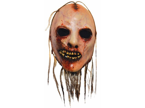 From the award-winning FX network television show American Horror Story comes this great Bloody Face mask that is sure to creep out all of your friends. Full, over-the-head latex mask. One size fits most.