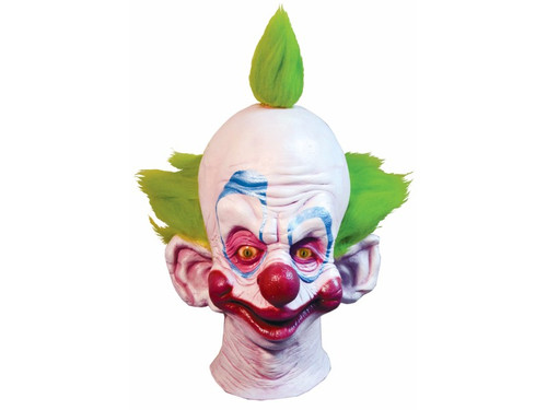 From the klassic kult horror movie Killer Klowns from Outer Space comes this great mask depicting the character Shorty. This full, over-the-head latex mask has a great sculpt and is sure to scarify all of your friends! One size fits most adults.