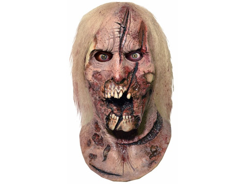 New.  The Walking Dead Deer Walker Latex Mask.  Look just like your favorite zombie from the award-winning TV show The Walking Dead. Full over-the-head latex mask. One size fits most adults.