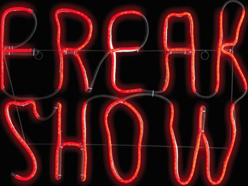 """Freak your visitors out with this incredible sign that looks just like a neon sign but it's made of LED lights. Long lasting sign you have to see to believe! Measures 17"""" x 1"""" x 24""""."""