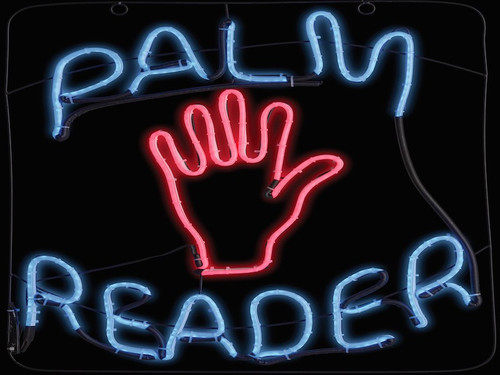 "New 2017.  Palm Reader Psychic Tarot Card Neon Light Up LED Sign. An incredible sign that looks just like a neon sign but its made of led lights. Long lasting sign you have to see to believe! Measures 23"" X 1"" x 21""."
