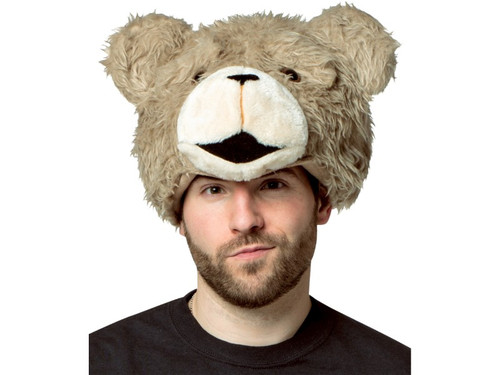 Ted 2 Head Hat. Here's a simple hat that will get lots of laughs! The TED2 hat is a plush character headpiece that leaves your face free for talking and eating, so you can enjoy the party! Officially licensed from the movie, TED2! One size fits most.  TM and (C) MRC III Distribution Company. All Rights Reserved.