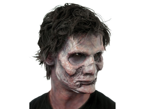 Living Dead Zombie. Soft, unpainted foam prosthetics, once glued onto your face, will move with each facial expression.  Talk, drink and eat with these super realistic creations.  Requires spirit gum, latex and makeup - sold separately with our other makeup accessories.