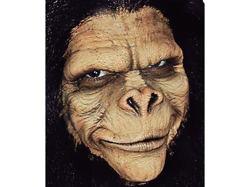 Ape Man Monkey. Soft, unpainted foam prosthetics, once glued onto your face, will move with each facial expression.  Talk, drink and eat with these super realistic creations.  Requires spirit gum, latex and makeup - sold separately with our other makeup accessories.