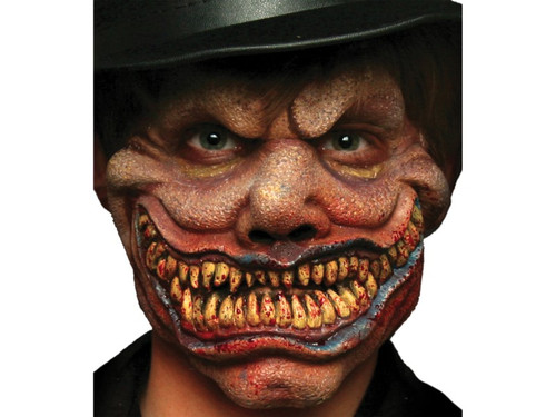 Dr Jekyll and Mr Hyde. Soft, unpainted foam prosthetics, once glued onto your face, will move with each facial expression.  Talk, drink and eat with these super realistic creations.  Requires spirit gum, latex and makeup - sold separately with our other makeup accessories.